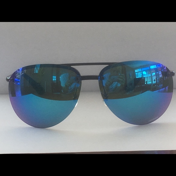 55668c81859 Ray-Ban 4293-CH Chromance Sunglasses (Unisex). M 5b5390f1b6a9424386d35998